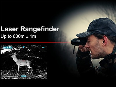 Best InfiRay Thermal Monocular with Rangefinder