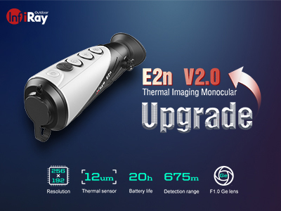 InfiRay Outdoor Releases Its 12μm Affordable Pocket-sized Monocular-E2n V2.0 Version